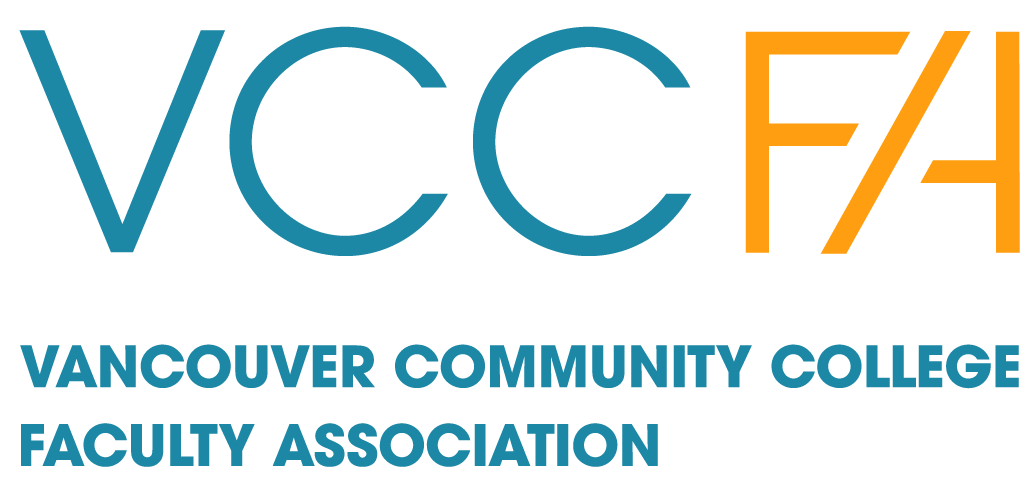 VCCFA – Vancouver Community College Faculty Association